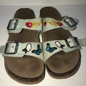Madden Girl Blue Sandals
